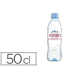 Eau plate évian bouteille 50cl