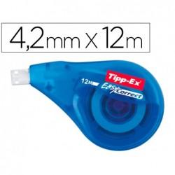 Correcteur tipp-ex tape dévidoir ruban 4.2mmx12m...