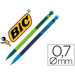 Porte-mine bic matic combos 0.7mm embout gomme corps et...