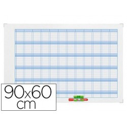 Planning nobo gamme performance annuel magnétique mois 12...
