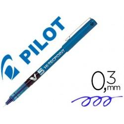 Stylo pilot v5 écriture fine 0.3mm clip métal encre...