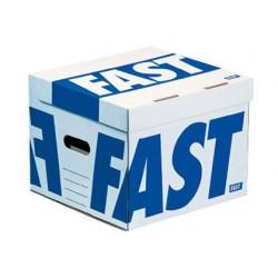 Conteneur paperflow flash cube 350x350x280mm capacité 4...