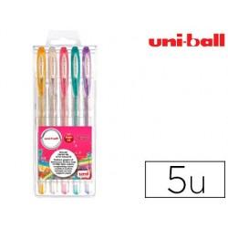 Stylo-bille uniball signo écriture moyenne 0.5mm point e...