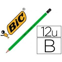 Crayon graphite bic critérium 550 b bois hexagonal tête...