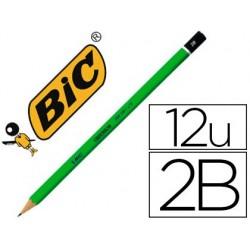 Crayon graphite bic critérium 550 2b bois hexagonal tête...