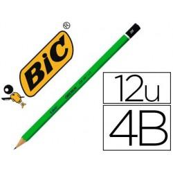 Crayon graphite bic critérium 550 4b bois hexagonal tête...