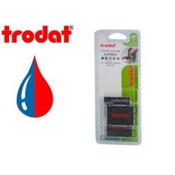 Recharge tampon trodat formule standard 4750l bleu rouge...