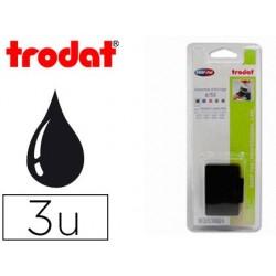 Recharge tampon trodat 5203/ 5253/5440 noir 3 unités