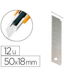 Lame rechange q-connect cutter acier inoxydable 18mm étui...
