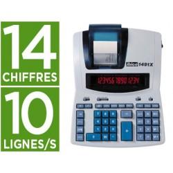 Calculatrice ibico 1491x imprimante 10l/seconde 14...