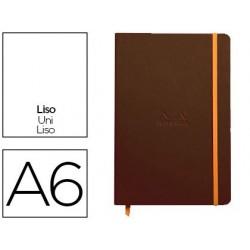 Carnet rhodia webnotebook a6 9x14cm couverture simili...