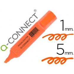 Surligneur q-connect tracé 2/5 mm pointe biseautée...