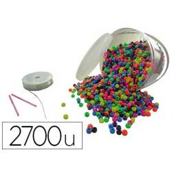 Perle plastique innspiro 23m nylon élastique 2 aiguilles...