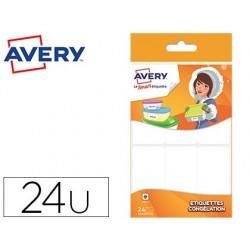 Étiquette avery adhésive congélation 63.5x33mm permanente...