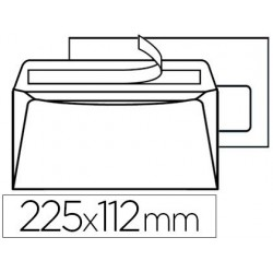 Enveloppe gpv dl+ 112x225mm 90g adhésive fermeture rapide...