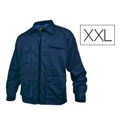 Veste travail deltaplus mach2 polyester coton 245g/m2...