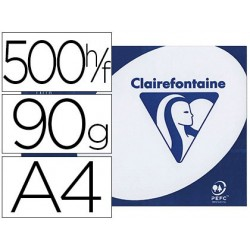 Papier clairefontaine clairalfa extra blanc a4 90g/m2...