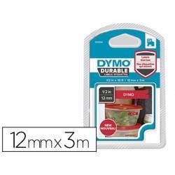 Ruban dymo d1 polyester adhésif permanent 12mmx3m...