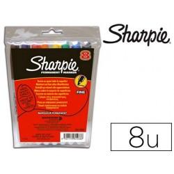 Marqueur sharpie permanent pointe ogive fine 0.9mm sèche...
