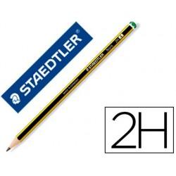 Crayon graphite staedtler noris 120 2h hexagonal mine 2mm...