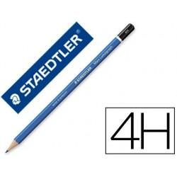 Crayon graphite staedtler mars lumograph 100 4h hexagonal