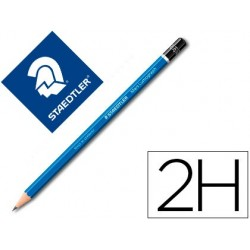 Crayon graphite staedtler mars lumograph 100 2h hexagonal