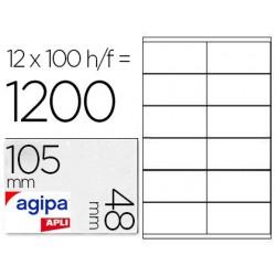 Étiquette adhésive apli agipa multi-usage 105x48mm toute...