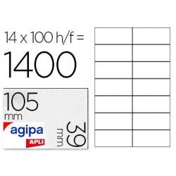 Étiquette adhésive apli agipa multi-usage 105x39mm toute...