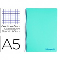 Cahier spirale liderpapel a5 micro wonder 240 pages 90g...