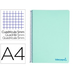 Cahier spirale liderpapel a4 micro wonder 240 pages 90g...