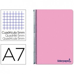 Cahier spirale liderpapel a7 micro wonder 200 pages 90g...