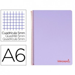 Cahier spirale liderpapel a6 micro wonder 240 pages 90g...