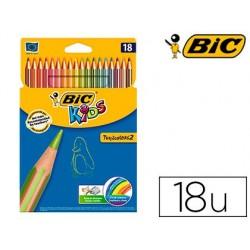 Crayon couleur bic kids tropicolors 2 175mm mine...