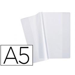 Protège-cahier elba pvc cristal 15/100e a5 incolore