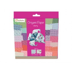 Feuille papier origami clairefontaine liberty 70g...