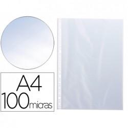 Pochette q-connect polypropylène lisse 10/100e perforée...