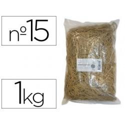 Bracelet caoutchouc blond safetool 150x10mm sachet 1kg...