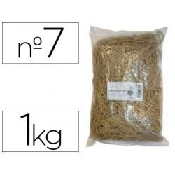 Bracelet caoutchouc blond safetool 70x5mm sachet 1kg