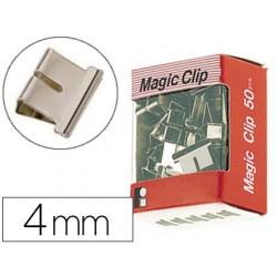 Clip pince relieur jpc 4mm boîte 50 unités