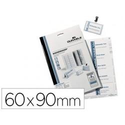 Planche durable pour badge 60x90mm pack 20 unités