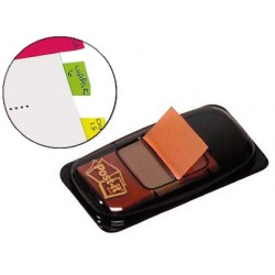 Marque-pages post-it index format standard 25mm coloris...