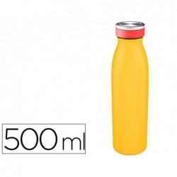 Gourde leitz cosy isotherme acier inoxydable 500ml...