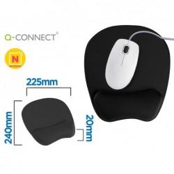 Tapis souris q-connect repose-poignet ergonomique mousse...