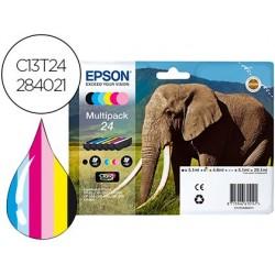 Cartouche epson jet d'encre éléphant 24 claria photo hd...