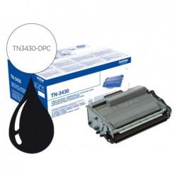 Toner dpc compatible brother tn3430
