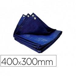 Bache viso polyethylene 12m2 4x3m coloris bleu