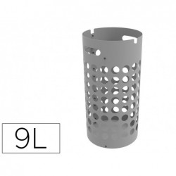 Porte parapluie unilux slim polypropylene socle metal...
