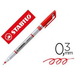 Stylo-feutre stabilo sensor pointe fine gainée métal...