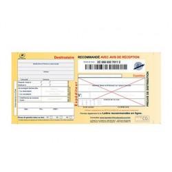 Imprime recommande a4 techmay avec ar et preuve de depot...