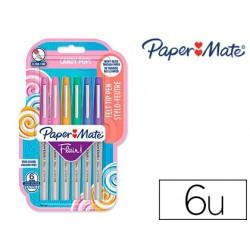 Stylo-feutre paper mate flair couleurs candy pop pointe...